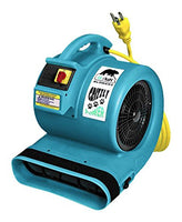 Grizzly 1 HP Etl Approved Dryer Air Turquoise, B-AIR DRYERS, Love Groomers - Love Groomers