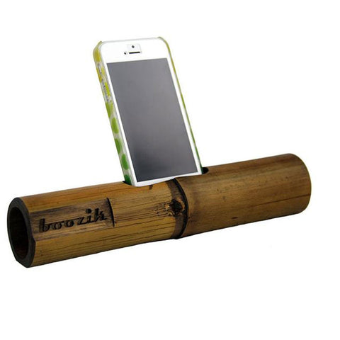 Boozik iPhone Portable Bamboo Amplifier - iPhone Original - Global Groove (A)