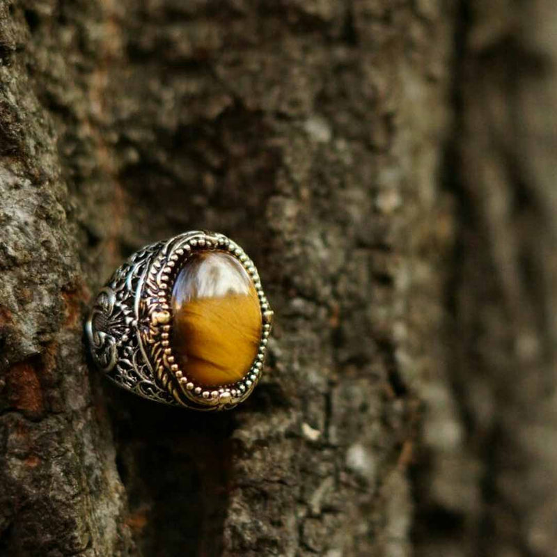 Tiger Eye Imperial Ring (model# R301)
