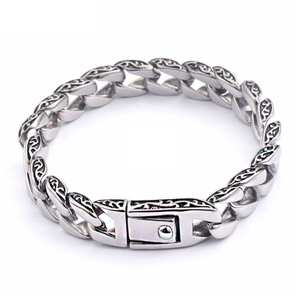 Mensdoor stainless steel men's bracelet