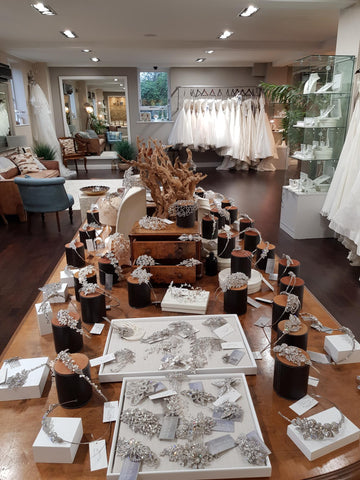 Image of ivory & co's studio and showroom interior