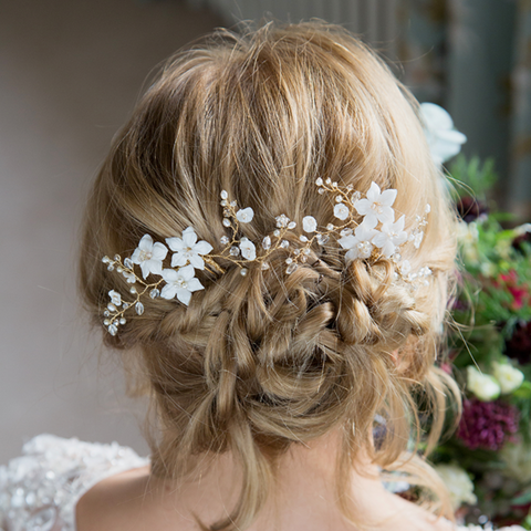 Clematis Hair Pin