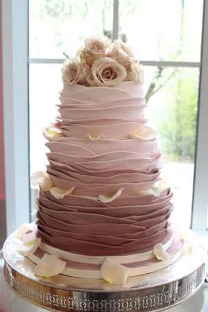 lily houston design dusky rose wedding cake