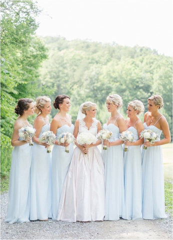 lily houston design picture of bridesmaids in white for wedding tradition blog