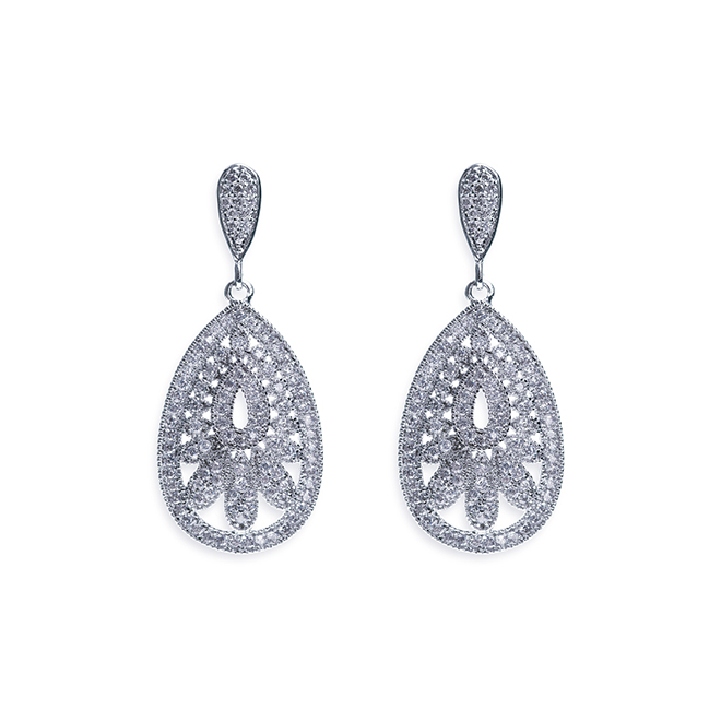 Cosmopolitan Art Deco style earrings