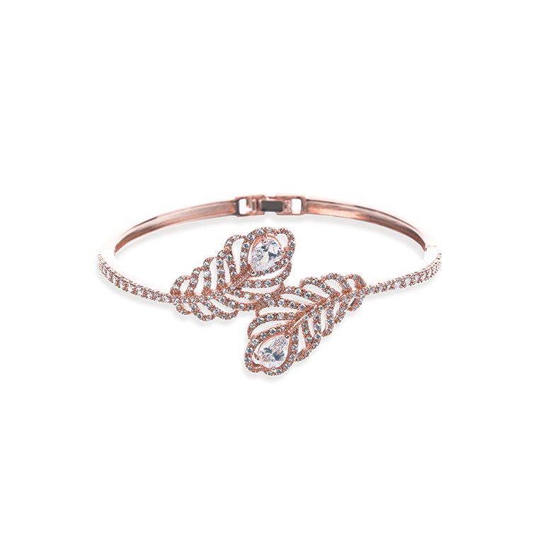 Long Island Rose gold bridal bracelet