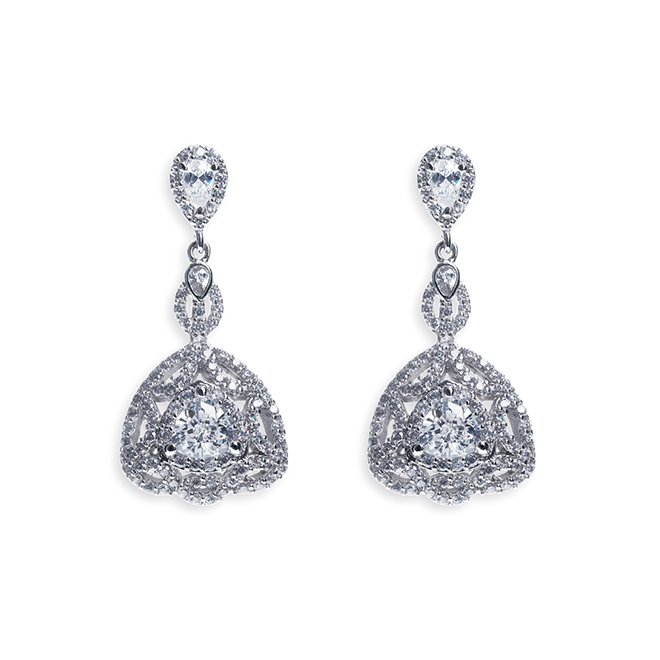 Luxembourg vintage style drop earrings