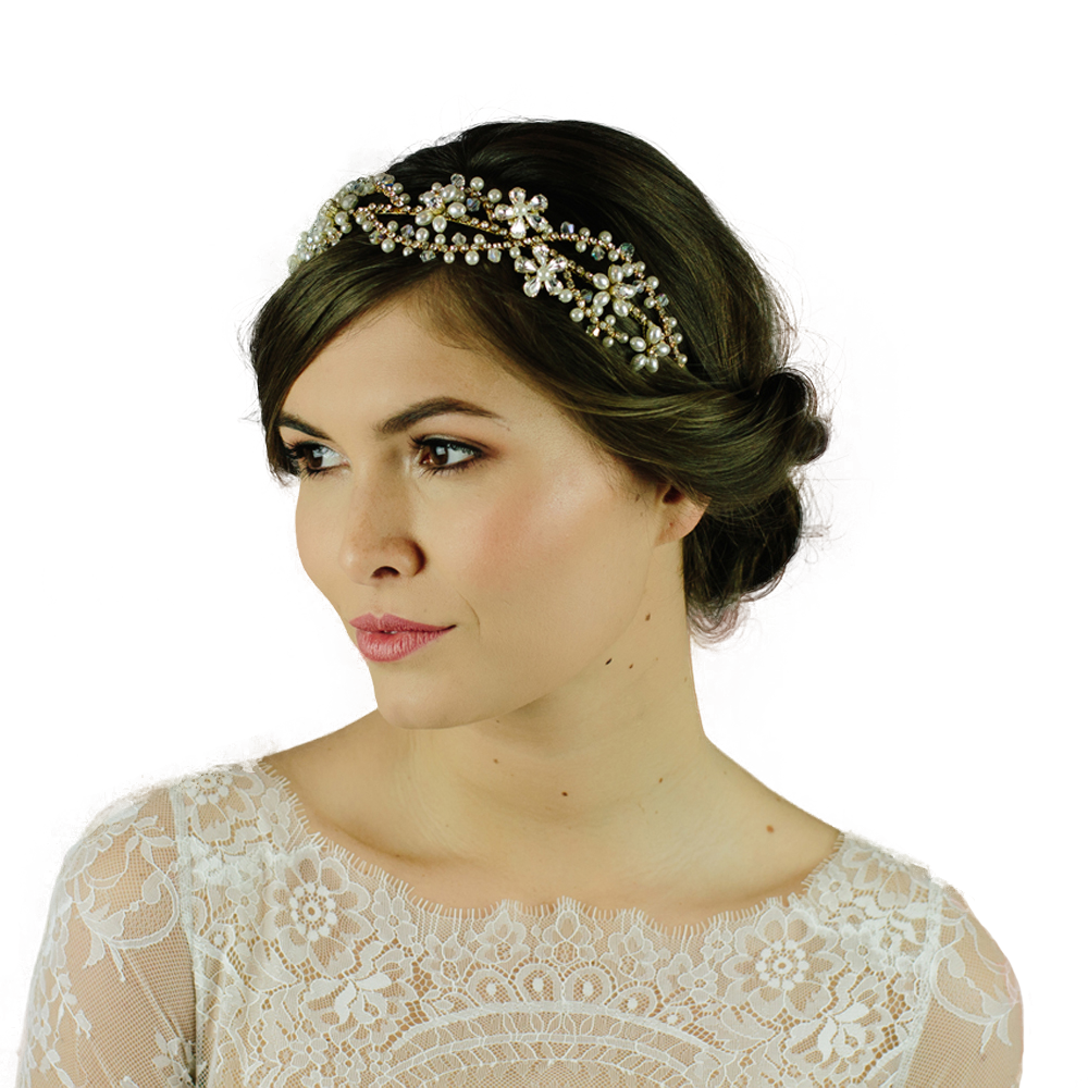 Montgomery wedding headband by Miranda Templeton