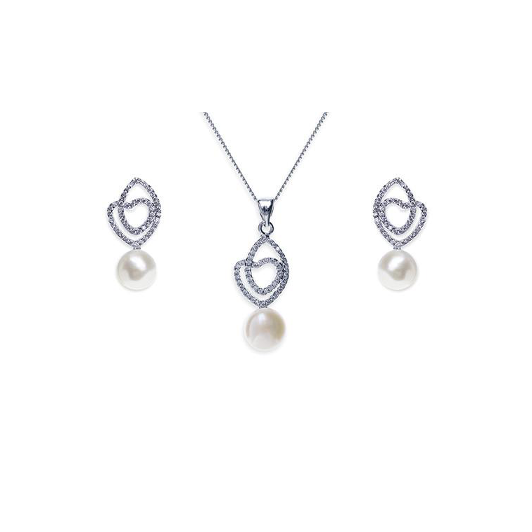 Salzberg necklace and earring set