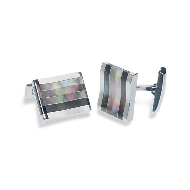 Wentworth mens wedding cufflinks at lily houston design product image