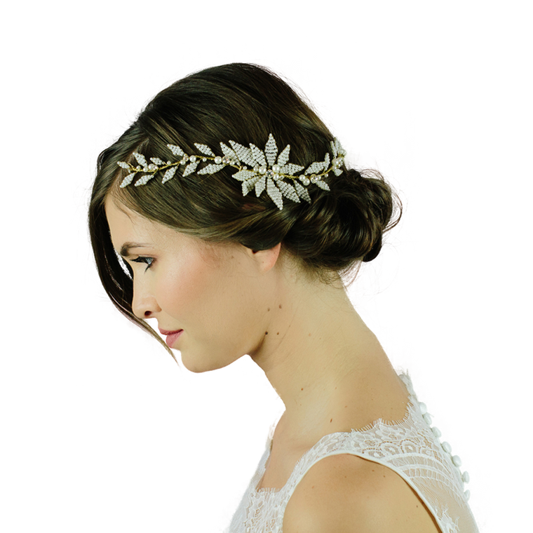 Worthing bridal hair vine