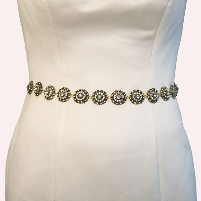 Youldon gold wedding belt