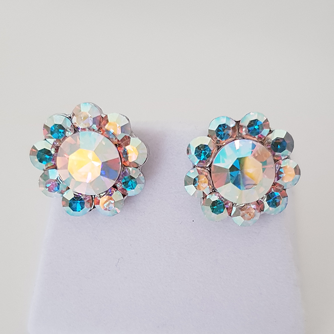 Aileana crystal stud earrings