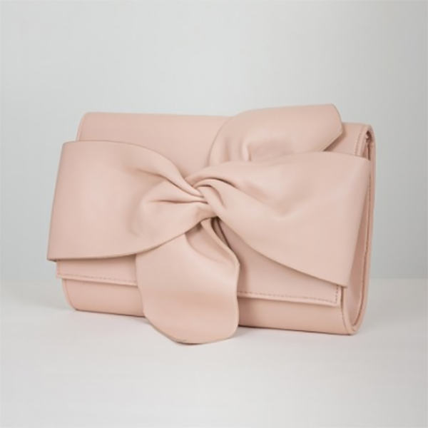 Esther nude clutch bag