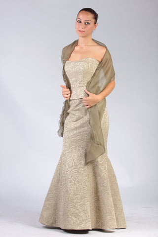 Style 8151 - Polyester/Rayon fabric; Sale price $365.00