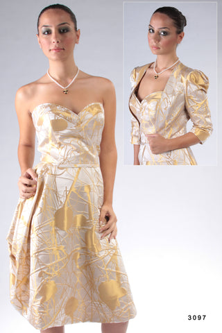 Style 3097 Designed & Made in Canada with italian silk