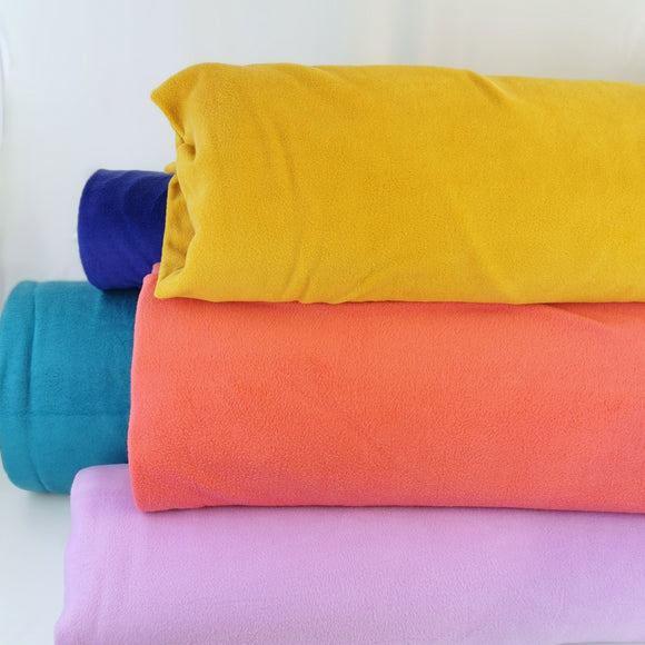 Polar fleece - Anti-pil - Plain colours