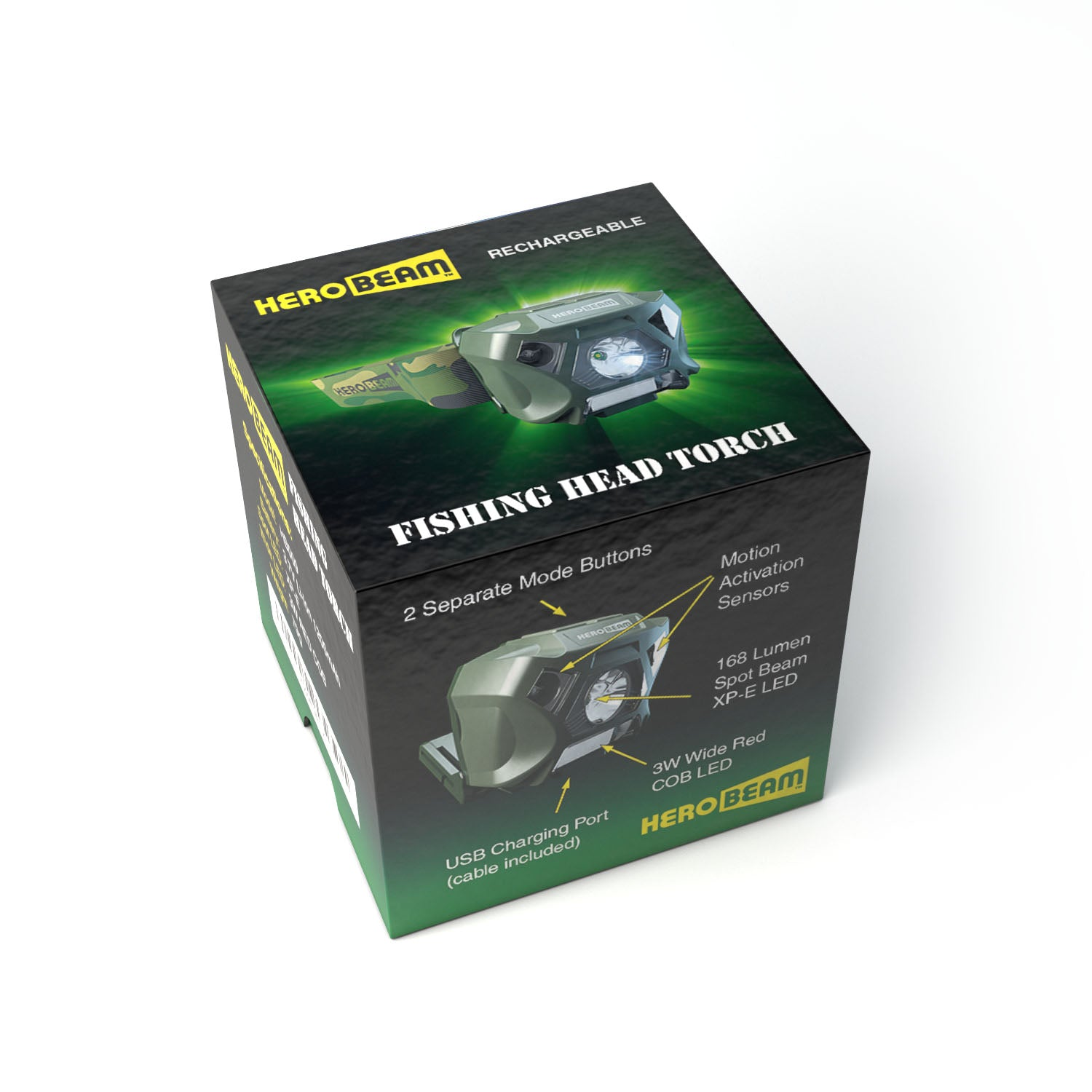 HeroBeam® Fishing Headlamp