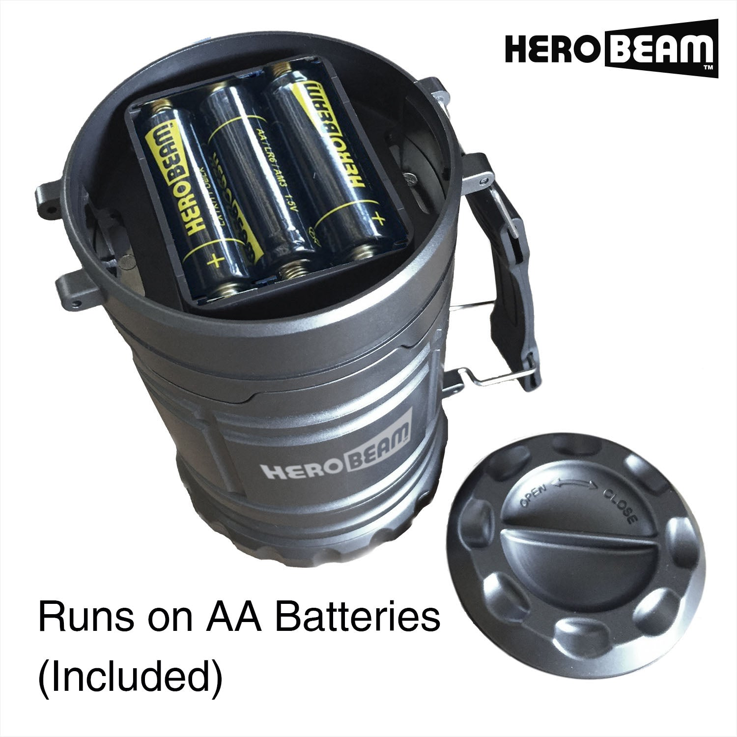 HeroBeam® LED Lantern V2.0 with Flashlight