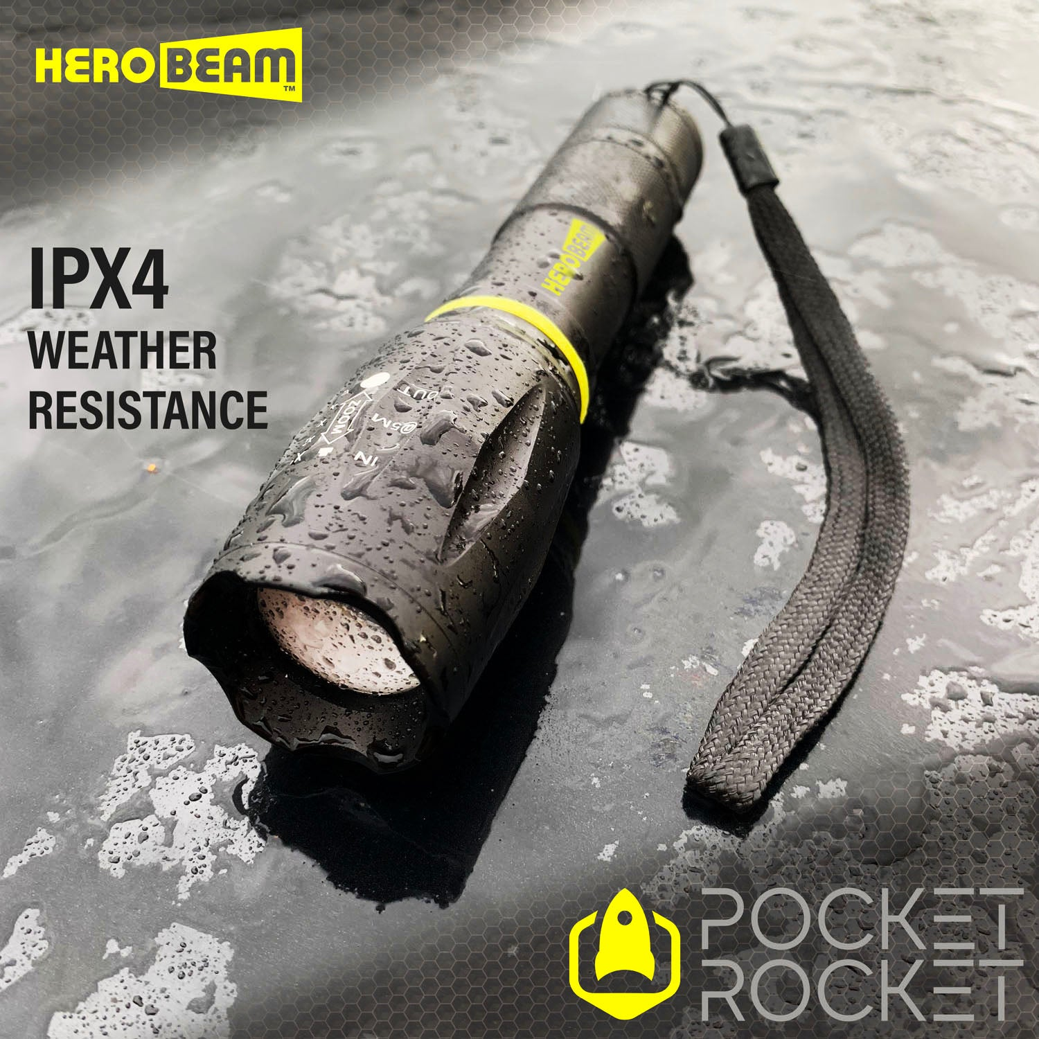 HEROBEAM® Pocket Rocket Tactical Flashlight