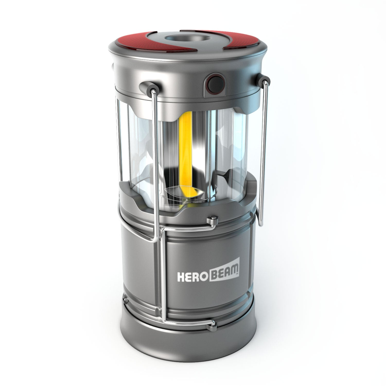 LED Rechargeable Lantern V3 with Flashlight & Emergency Beacons