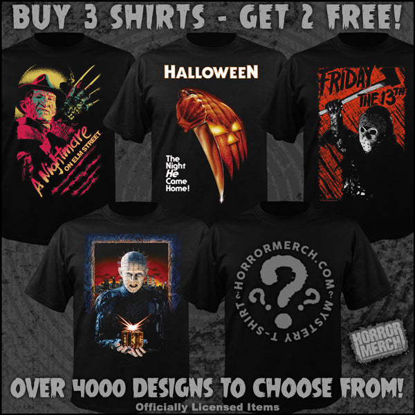 Get free shirts by mail