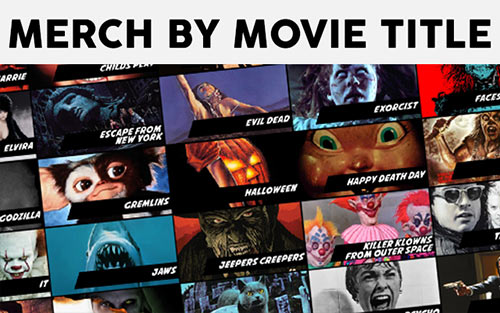 Merch Listed By Movie Title