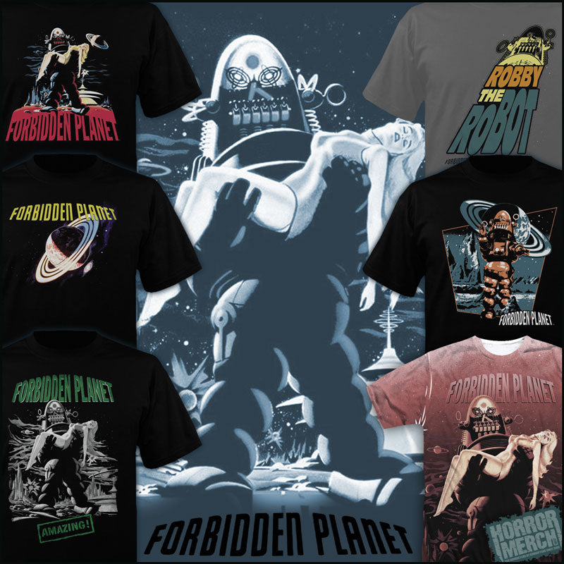 Forbidden Planet Clothing Items And Collectibles