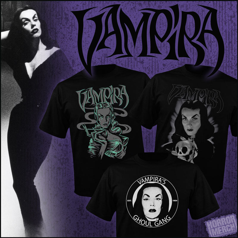 Vampira Clothing Items And Collectibles