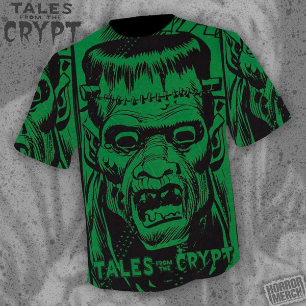 Tales From The Crypt - Face (All Over Front Print) [Mens Shirt] - Pre-Order