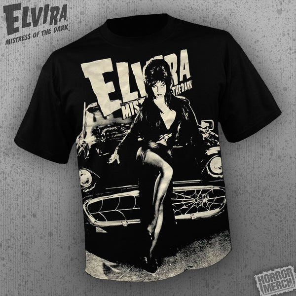 Elvira - Hot-Rod (All Over Front Print) [Mens Shirt] - Pre-Order