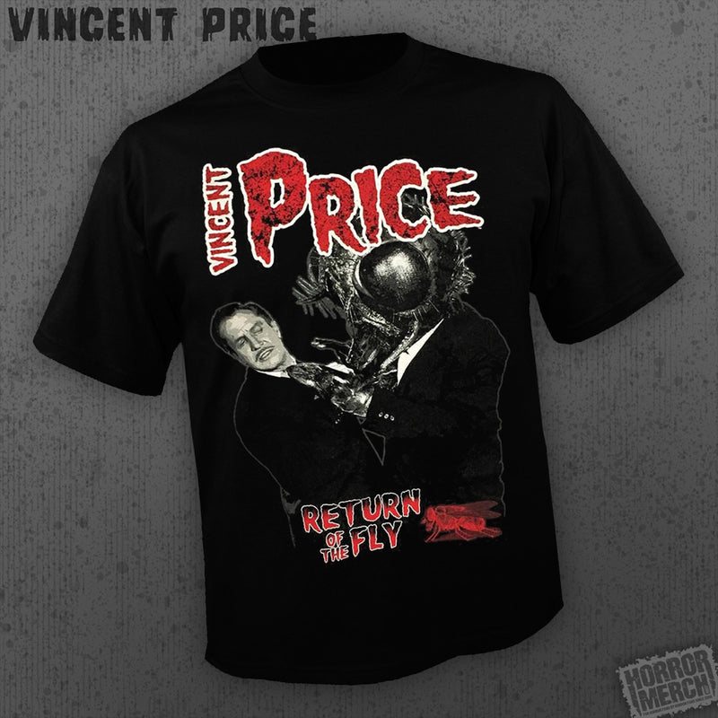 Vincent Price - Return Of The Fly [Mens Shirt] - Pre-Order