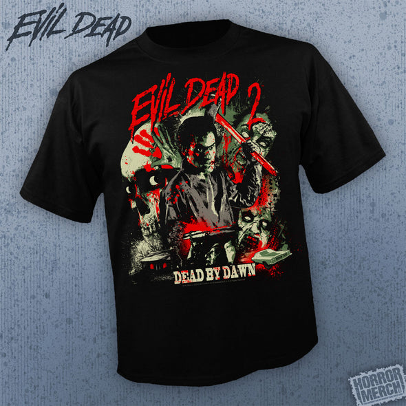 Evil Dead - Bright Splatter Art [Guys Shirt]