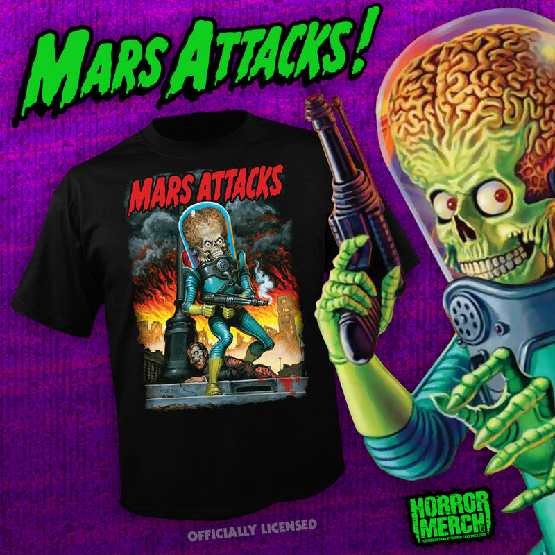 Mars Attacks - Fire [Mens Shirt] - Pre-Order
