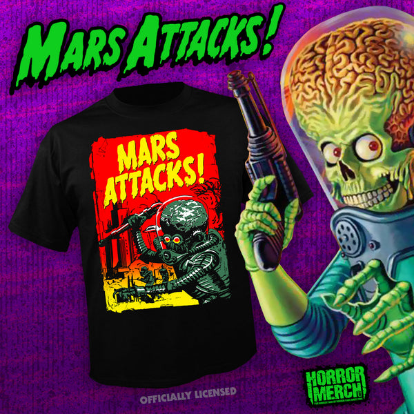 Mars Attacks - Wax Pack [Mens Shirt] - Pre-Order