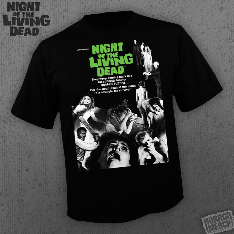 Night Of The Living Dead - Poster [Mens Shirt] - Pre-Order