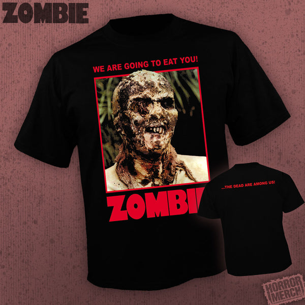 Zombie - We Are Going To Eat You (Front + Back Print) [Mens Shirt] - Pre-Order