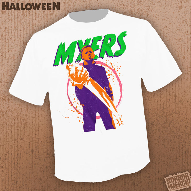 Halloween - Neon (White) [Mens Shirt] - Pre-Order