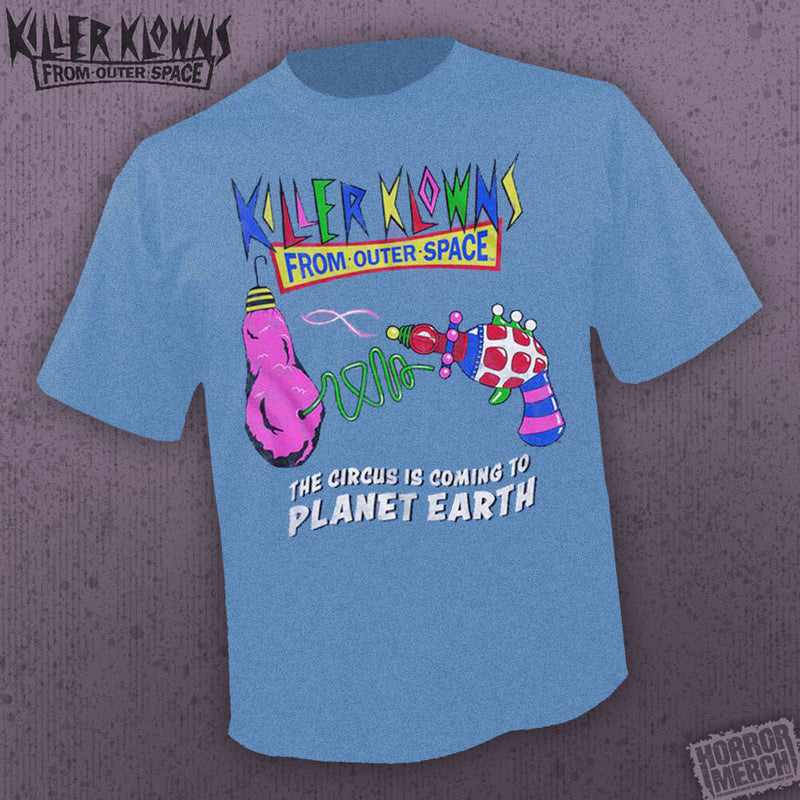 Killer Klowns From Outer Space - Weapons (Blue) [Mens Shirt] - Pre-Order