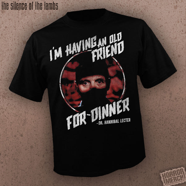 Silence Of The Lambs - Old Friend [Mens Shirt]