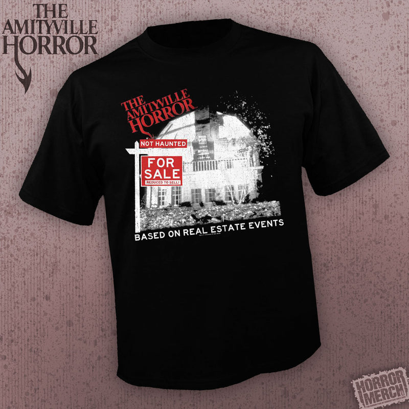 Amityville Horror - Not Haunted [Mens Shirt] - Pre-Order