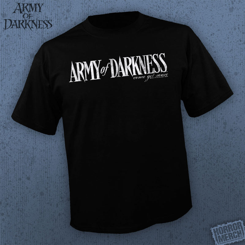 Army Of Darkness -  Come Get Some White Logo [Mens Shirt] - Pre-Order