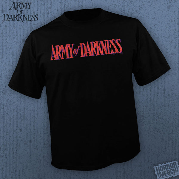 Army Of Darkness - Red Logo [Mens Shirt] - Pre-Order