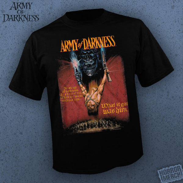 Army Of Darkness - In An Age Of Darkness [Mens Shirt] - Pre-Order