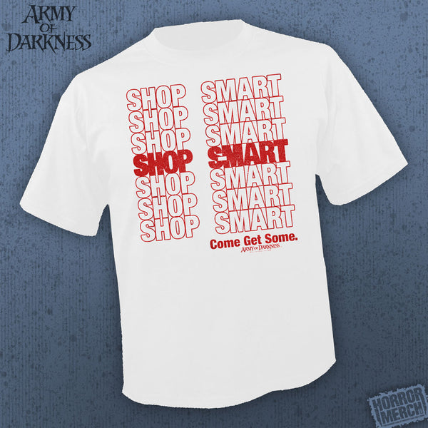 Army Of Darkness - Shop S-MART (White) [Mens Shirt] - Pre-Order
