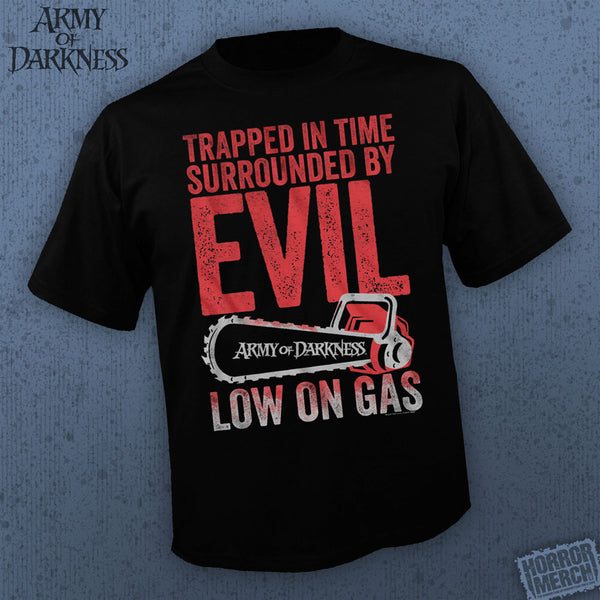 Army Of Darkness - Low On Gas [Mens Shirt] - Pre-Order