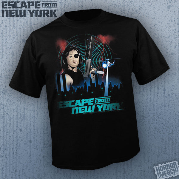 Escape From New York - Poster (Cartoon) [Mens Shirt] - Pre-Order