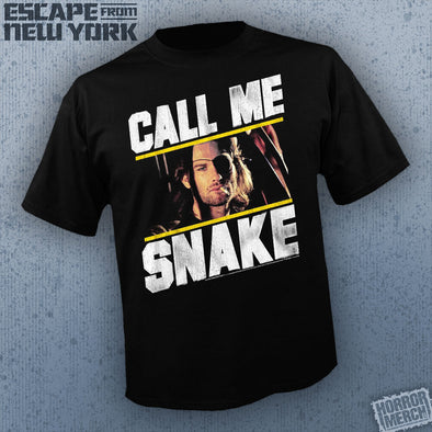 Escape From New York - Call Me Snake (Photo) [Guys Shirt]