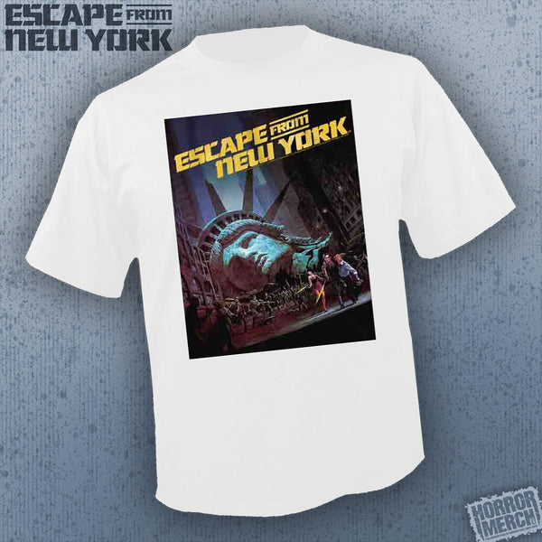 Escape From New York - Poster (White) [Mens Shirt] - Pre-Order