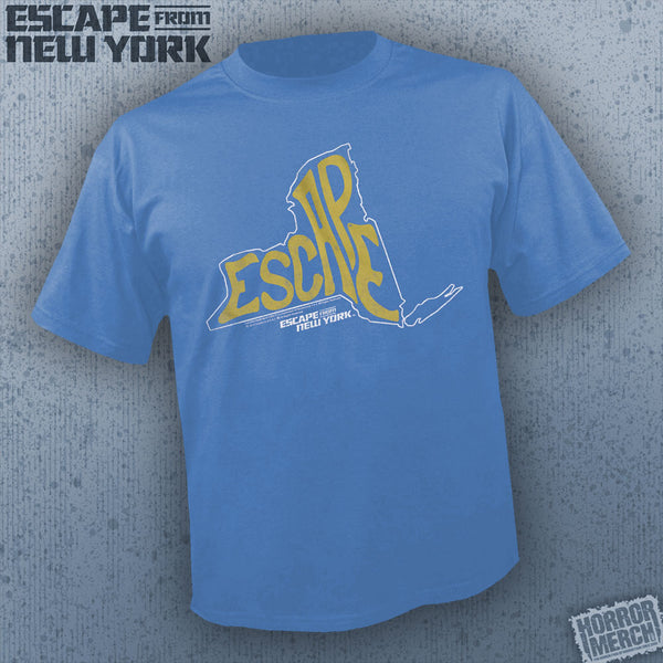 Escape From New York - Escape (Blue) [Mens Shirt]